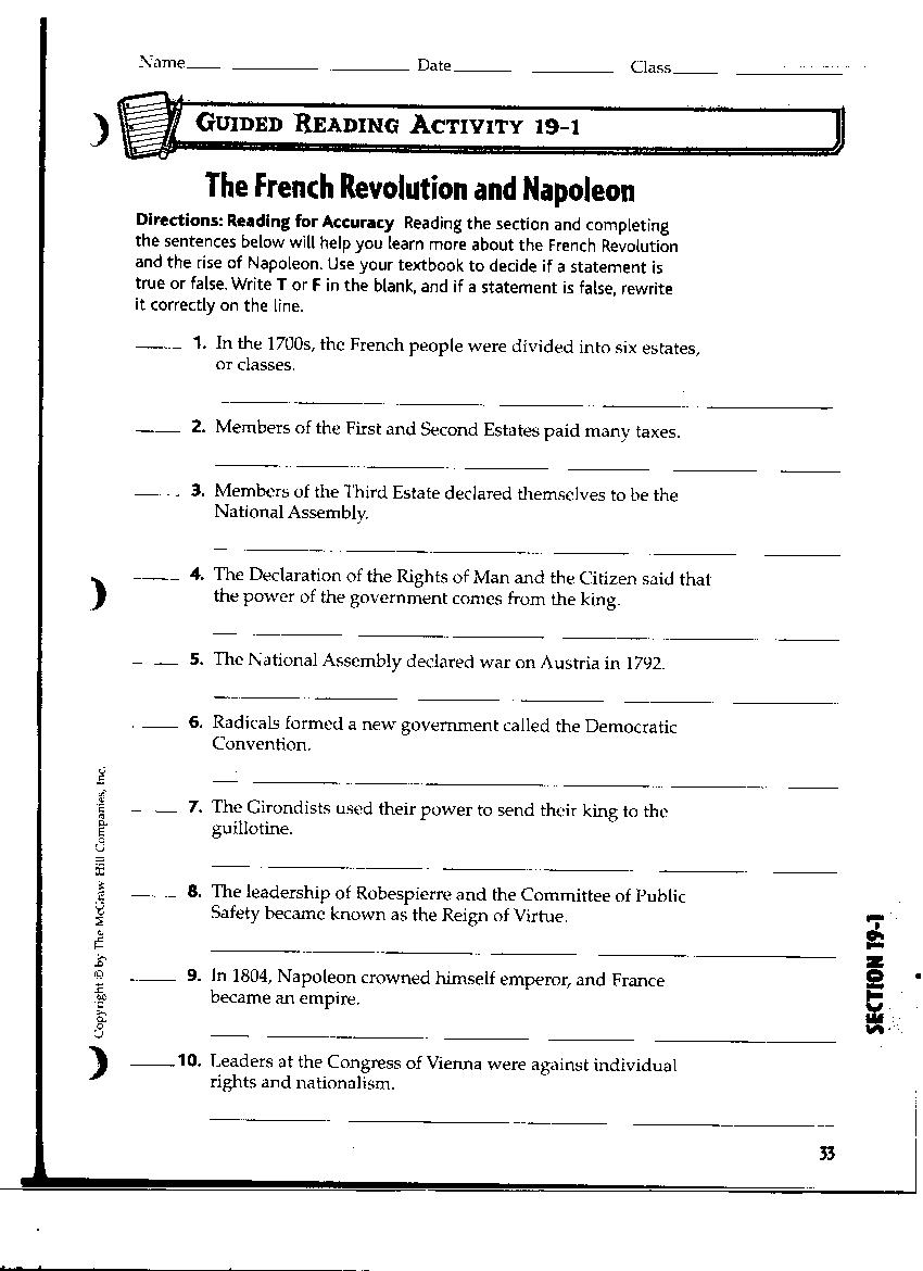 {Collection of French Revolution Worksheet Sharebrowse – French Revolution Worksheets